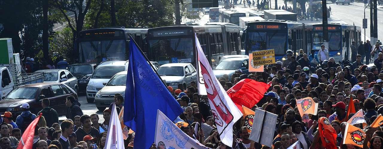 São Paulo A jornada de protestos foi convocada no final de junho pelas principais centrais sindicais do Brasil