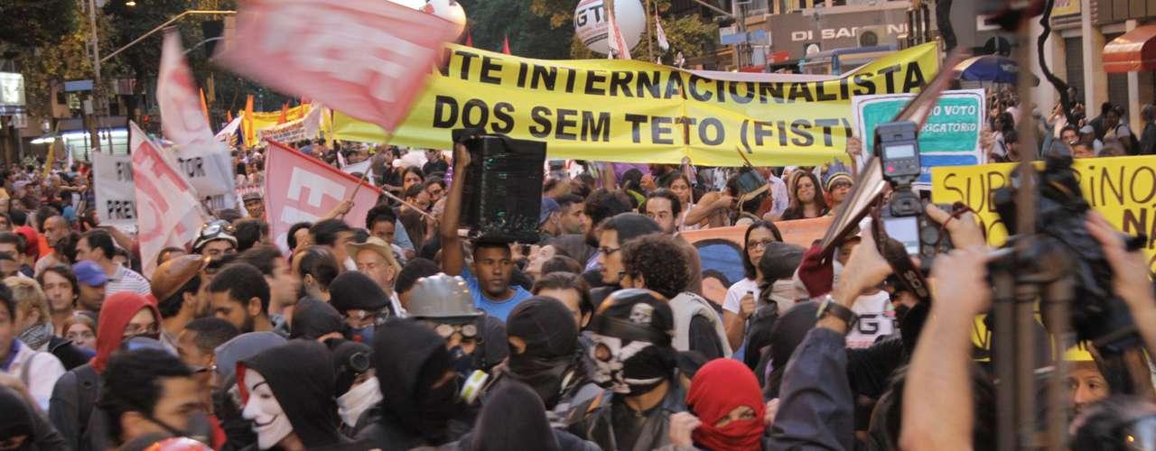 Rio de Janeiro - Até o final da tarde não havia acontecido os casos de violência e parcadaria