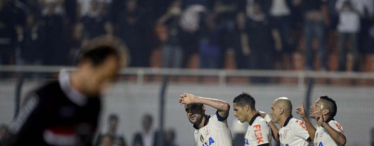 Foi o segundo título do Corinthians em 2012; antes disso, equipe foi campeã paulista