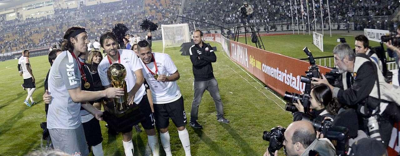 Campeão da Copa Libertadores e do Mundial de Clubes em 2012, time conquistou também a Recopa 2013