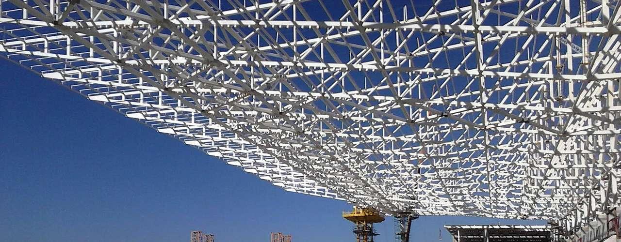 17de julho de 2013 -Segundo o cronograma da construtora Odebrechet, responsável pelas obras, a arena deve ficar pronta em dezembro deste ano