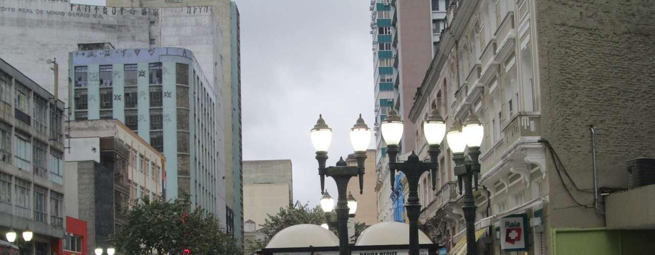23 de julho - Sensação térmica em Curitiba por volta das 8h segundo o Climatempo era de -5ºC