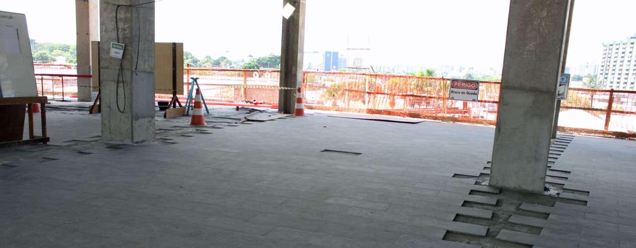 25 de julho de 2013:o prazo para o encerramento das obras termina em dezembro