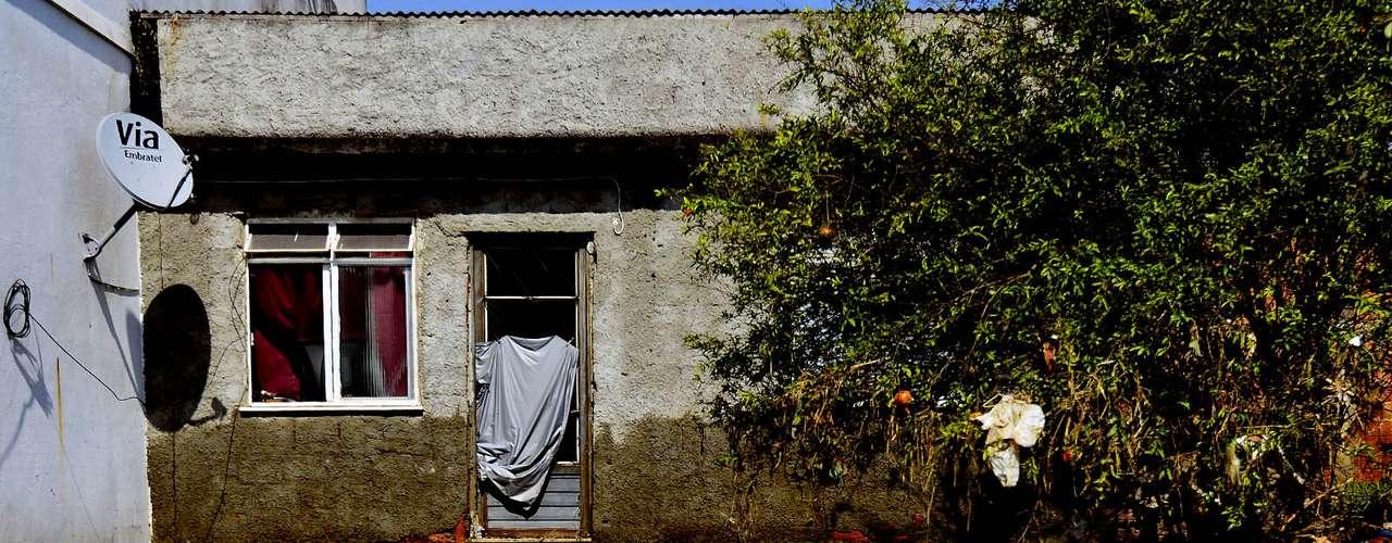 Casa onde a menina Isabela morava foi atingida pela água