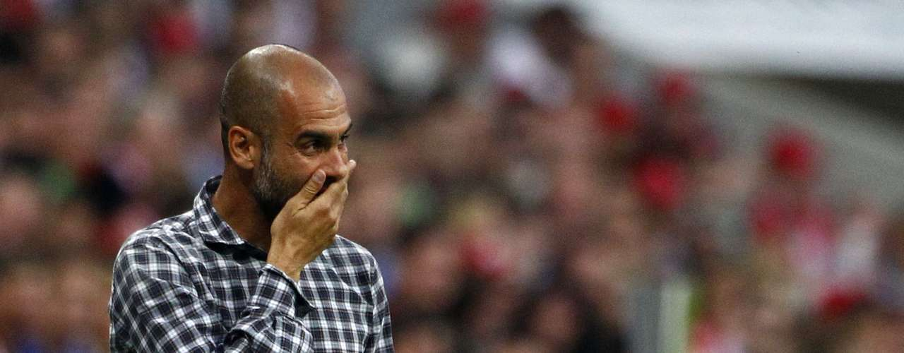Guardiola lamenta chance perdida pelo Bayern de Munique