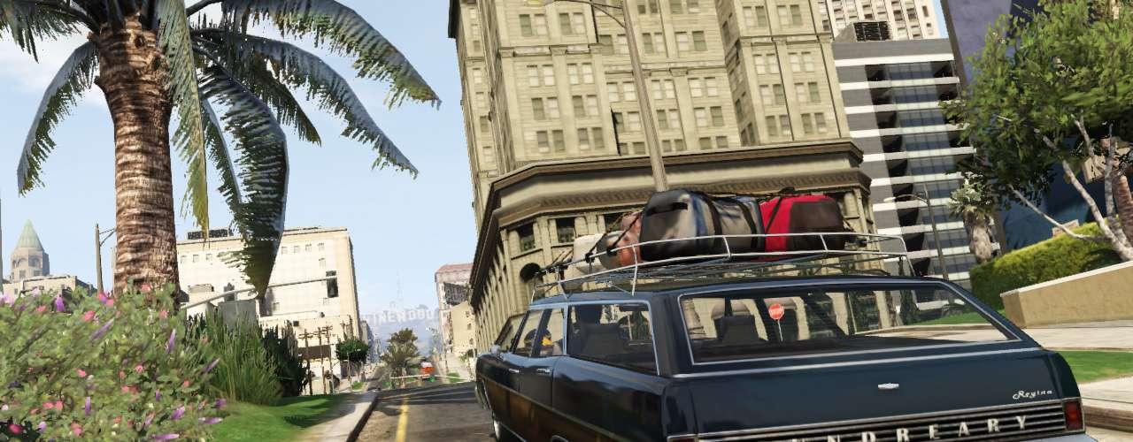 Mais novidade de GTA V, que chega com legendas em português no dia 18 de setembro: um novo site apresenta um 'guia turístico' da cidade de Los Santos. O dispositivo apresenta carros customizados, o comércio imobiliário e bolsa de valores, planos de saúde, uma companha aérea, entre outros