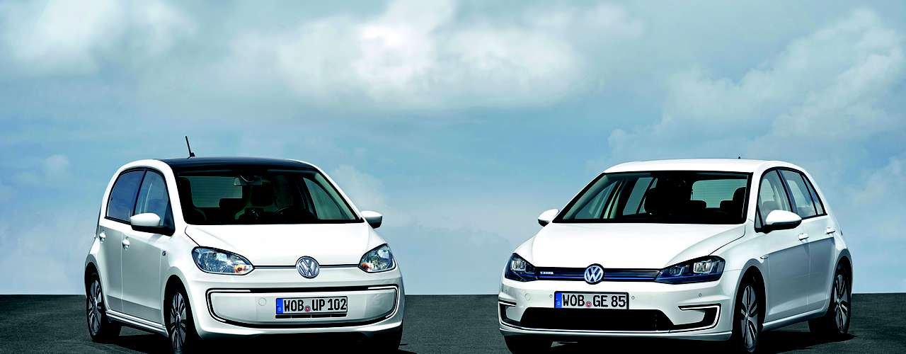 Volkswagen e-Golf e e-up!