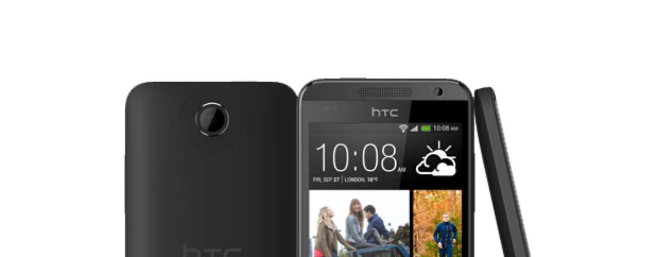 HTC Desire 300 - smartphone de entrada tem tela de 4,3 polegadas e processador dual-core de 1 GHz. A câmera principal de 5 megapixels