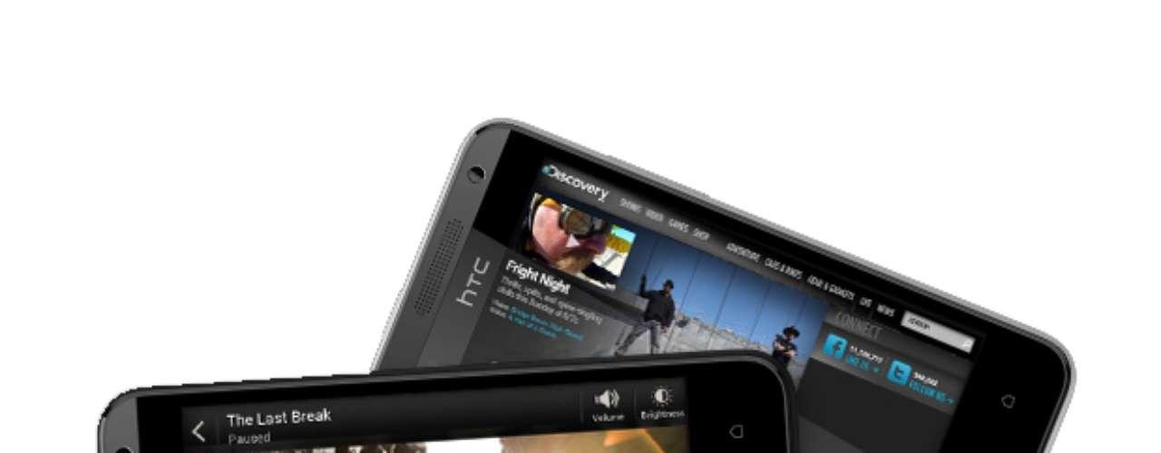 HTC Desire 601 - smartphone intermediário tem processador dual-core de 1,4 GHz e memória interna de 8GB. A tela é de 4,5 polegadas e a câmera de 5 megapixels