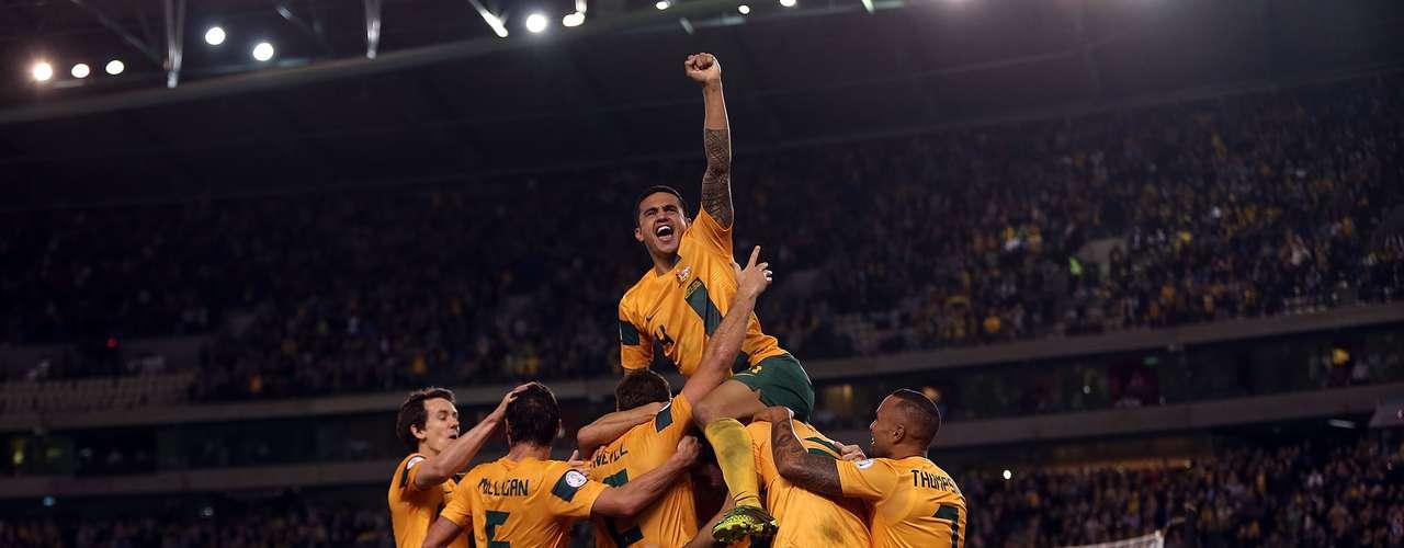 Austrália - segunda no Grupo B das Eliminatórias da Ásia