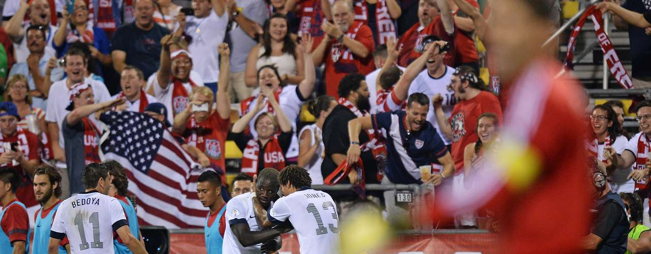Estados Unidos - líderes do hexagonal final da Concacaf