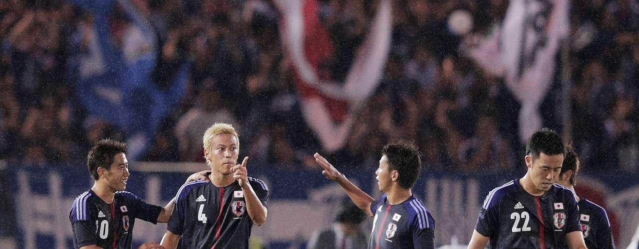 Japão - campeão do Grupo B das Eliminatórias da Ásia