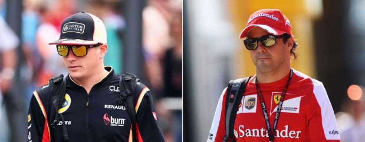 O site da emissora britânica Sky Sports aproveitou o anúncio da volta de Kimi Raikkonen à Ferrari nesta quarta-feira para fazer uma análise de quem ganha e quem perde com a assinatura do contrato do finlandês - que correrá até o fim de 2015 ao lado de Fernando Alonso no time na vaga aberta por Felipe Massa. Confira a avaliação dos ingleses para o futuro de nomes como Felipe Massa, Kimi Raikkonen, Fernando Alonso e Sebastian Vettel: