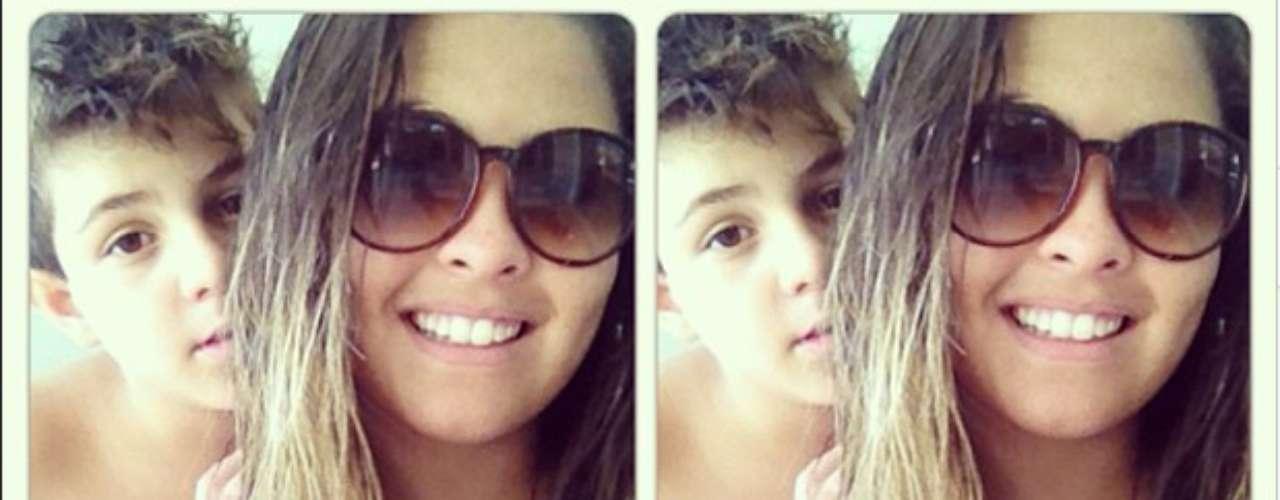 Danielle Favatto- filha do ex-atacante Romário