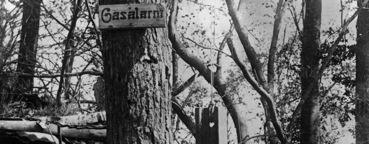 1916: Alarme alemão usado para avisar as tropas em caso de ataque de gás
