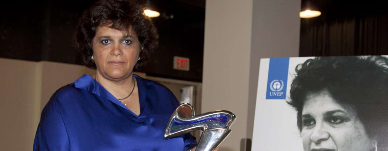 Izabella Teixeira foi homenageada na categoria de \