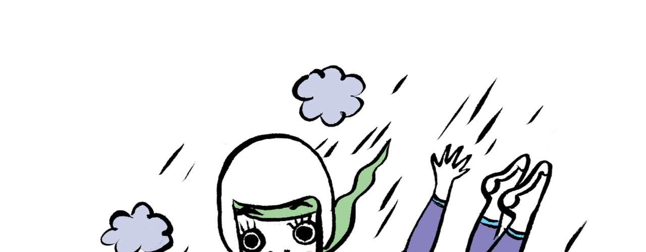 Marina Adrenalina Você não pode ver uma ponte, uma montanha, um trampolim, que não pensa duas vezes em pular! Você dispensa uma cama por uma barraca sem pestanejar. Se puder fazer o trajeto de bike, e encaixar um bungee-jumping no fim do dia, lá estará você. Afinal, veneno antimonotonia faz parte do cardápio diário!