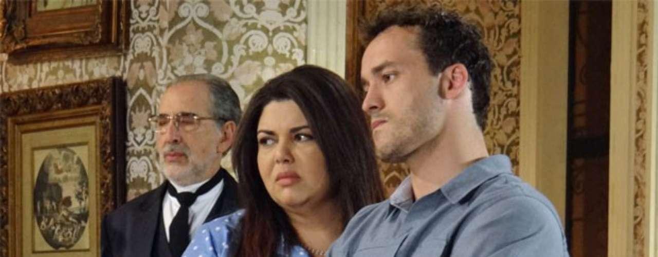 Daniela vai tirar satisfações com Leila, por ela ter humilhado Perséfone