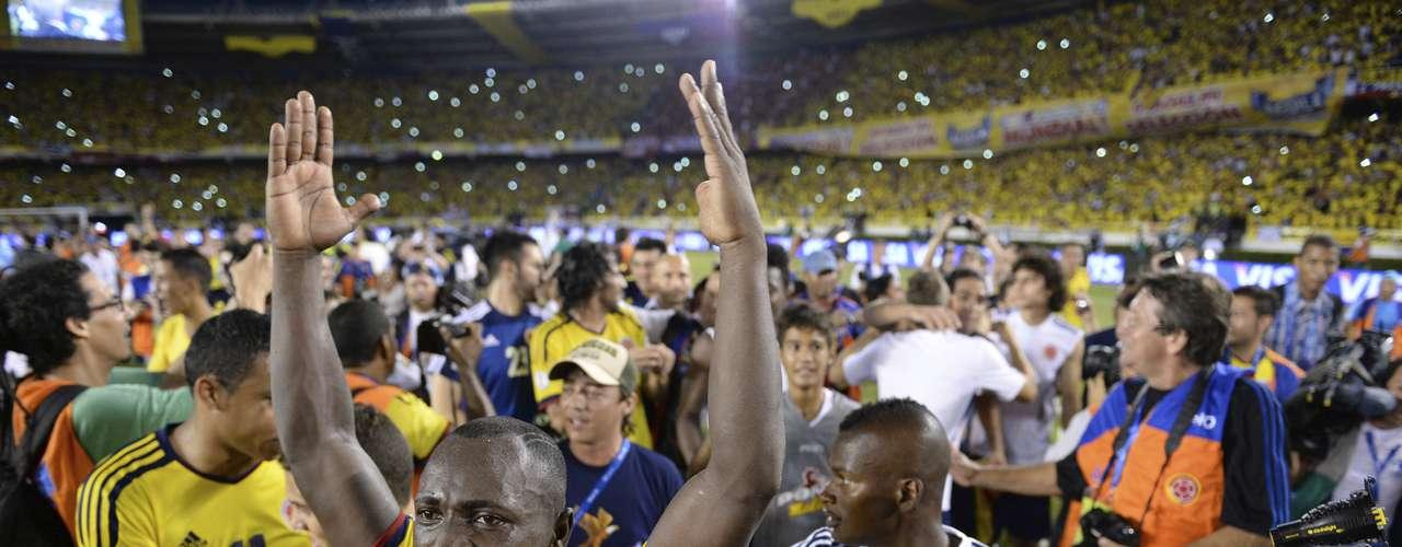 Colômbia - segunda colocada das Eliminatórias da América do Sul