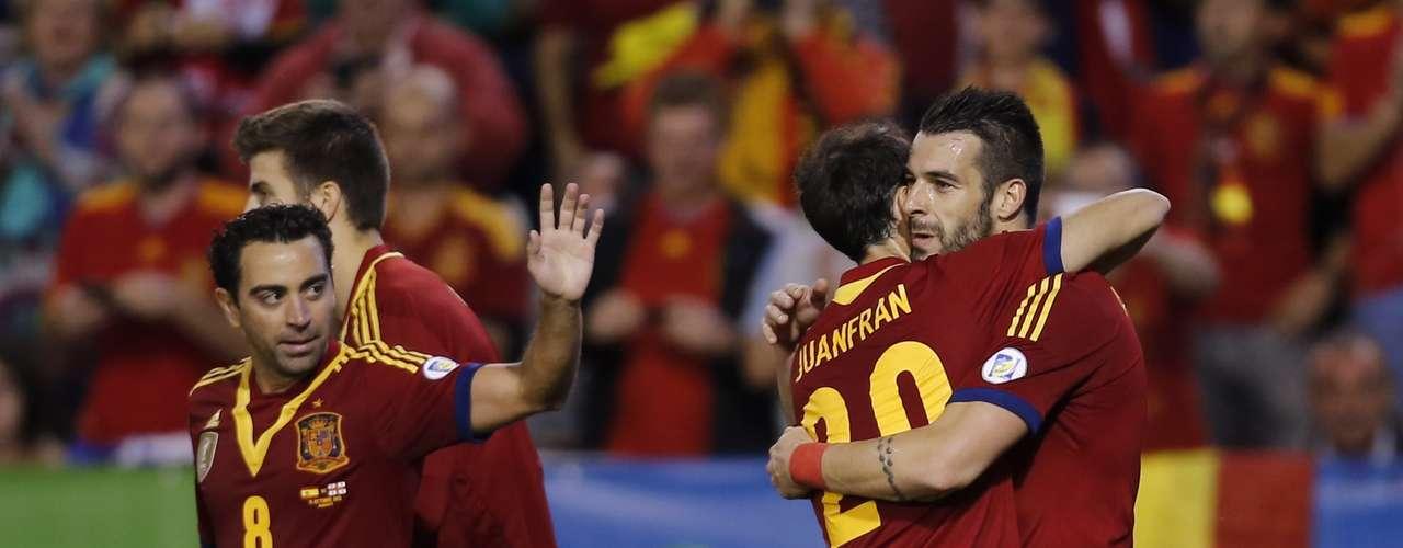 Espanha- campeã do Grupo I das Eliminatórias da Europa