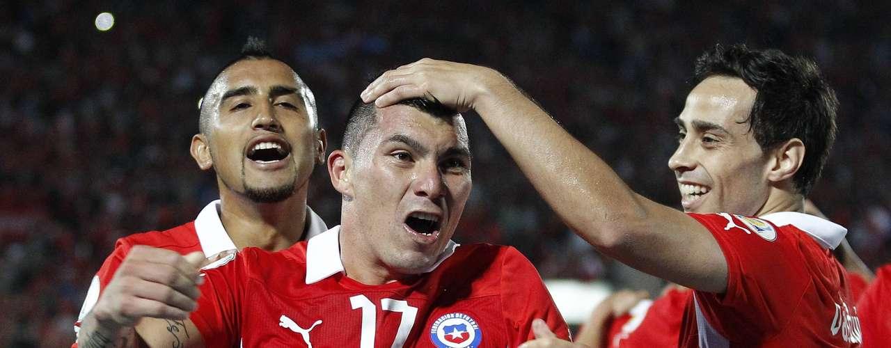 Chile - Terceiro colocado das Eliminatórias Sul-Americanas