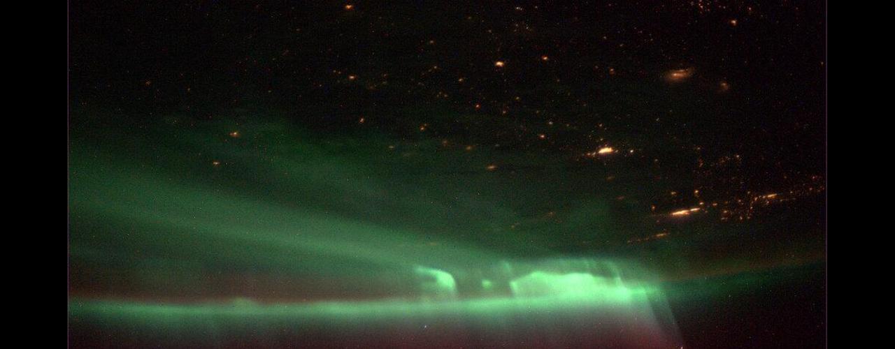 O astronauta Mike Hopkins registrou esta imagem no dia 9 de outubro de 2013 da Estação Espacial Internacional. \