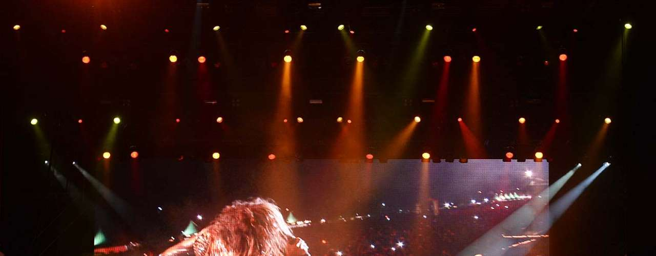 Na estrada há 43 anos, o Aerosmith de Steven Tyler e Joe Perry desfruta de sua trajetória de hits radiofônicos principalmente no palco. Neste domingo (20), encerrar o Monsters of Rock 2013 na Arena Anhembi, em São Paulo, não foi diferente. O grupo de Boston, cujas últimas visitas ao País foram recentes - 2010 e 2011 -, já lida com intimidade com os brasileiros