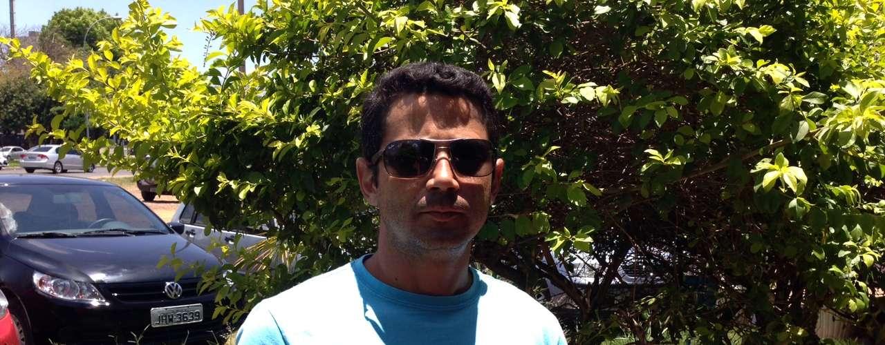 Brasília -Sandro Alex, 33, espera conseguir uma boa pontuação no Enem para realizar o desejo de cursar uma universidade pública