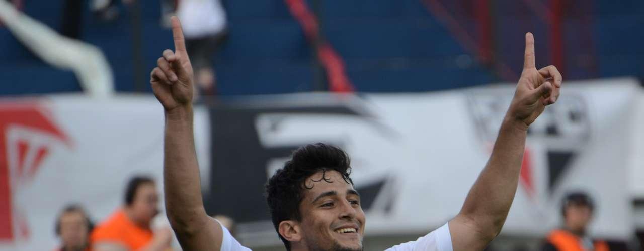 Aloísio já havia feito dois gols no meio de semana, contra a Universidad Católica, no Chile, pela Copa Sul-Americana
