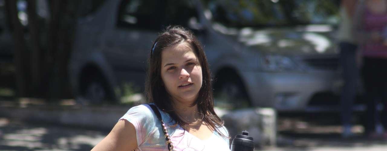 Florianópolis - Buscando uma vaga no curso de Medicina, a estudante Bruna Heloísa Volpatto, 21 anos, destacou que a prova de Química, no sábado, foi muito difícil