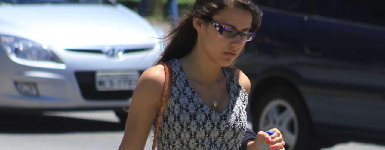 Florianópolis - A jovem Camila Dresch, 17 anos, afirmou que a prova em 2012 estava mais fácil\