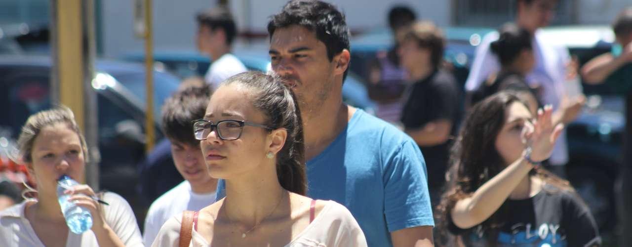 Florianópolis - Candidatos que prestam o segundo dia de provas do Enem em Florianópolis acreditam que a correção da redação será mais rigorosa em 2013