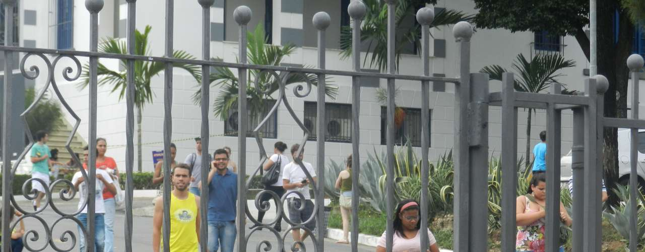 Belo Horizonte - Estudantes se surpreenderam com o tema da Redação em Belo Horizonte