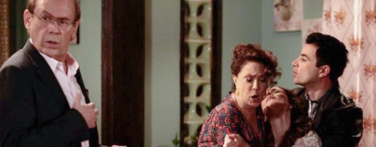 Apaixonado por Gina (Carolina Kasting), Herbert (José Wilker) vai à casa da cozinheira para pedi-la em casamento para sua família. Recebido por Denizard (Fulvio Stefanini), Ordália (Eliane Giardini) chega à sala na sequência e fica chocada ao ver o ex.Indignada, a enfermeira conta toda a história com o médico e diz que ele a abandonou. Para piorar a situação, Denizard chega àconclusão de que Herbert é pai de Gina. A cozinheira acaba desmaiando