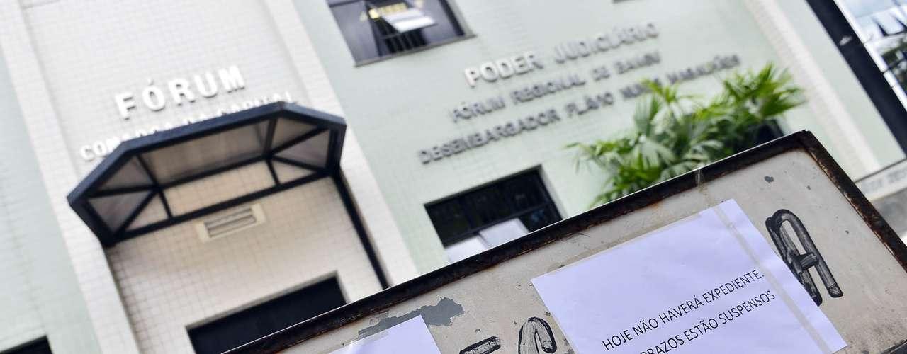 1º de novembro -Fórum de Bangu ficou fechado nesta sexta-feira após tiroteio no local