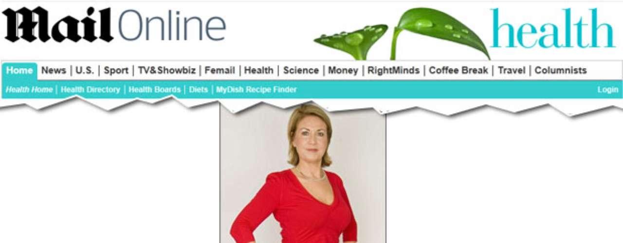 Louise Stewart-Muir, de 49 anos, é uma diretora de empresa, casada e mãe de três filhos. Ela tem uma chance em 25 de ter um infarto. Louise pratica exerícios regularmente, tem uma dieta regrada, mas o único agravanteé ter sofrido pré-eclâmpsia nas três gestações