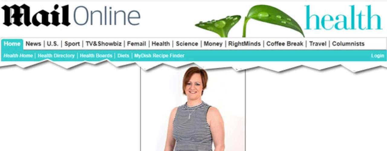 Clare Skinner, 31 anos, é assistente administrativae tem uma chance em quinze de ser vítima de um infarto. Ela é ex-fumante, é sedentária, come muito açúcar e massa e seu mãe foi vítima de uma doença cardíaca aos 40 anos