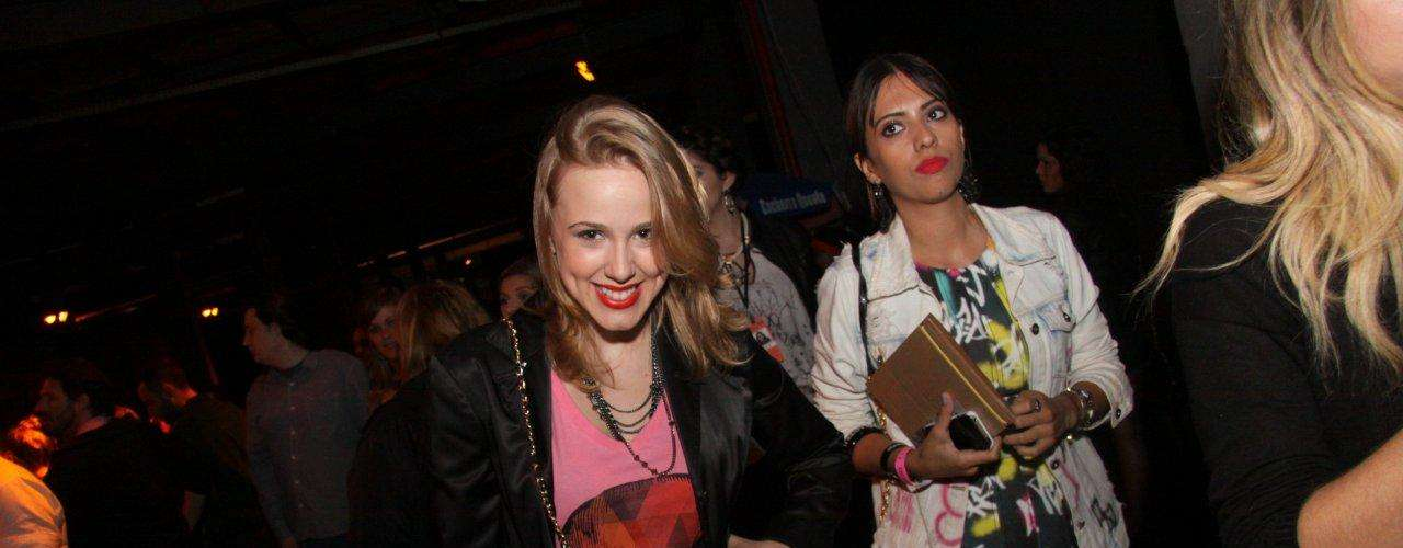 Marcela Rica comparece à edição de inverno do Fashion Rio, no segundo dia de desfiles