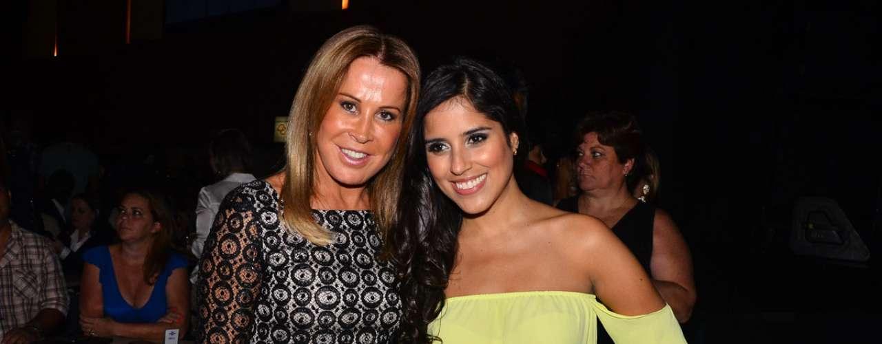 Zezé Di Camargo & Luciano fizeram o primeiro show da mini-turnê no Credicard Hall, em São Paulo. Na foto, Camilla Camargo e Zilu