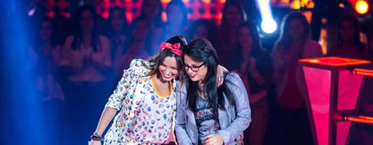 Do time de Daniel, Anne Marie e Gabriella Matos cantaram 'Máscara'. Anne foi a escolhida do sertanejo e nenhum dos técnicos apertou o \