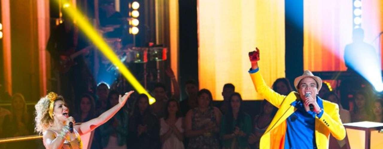 Brown apostou na batalha de Marcos Lessa e Aila Menezes com a música 'É Hoje o Dia'. O intérprete foi o escolhido, e ninguém salvou Aila