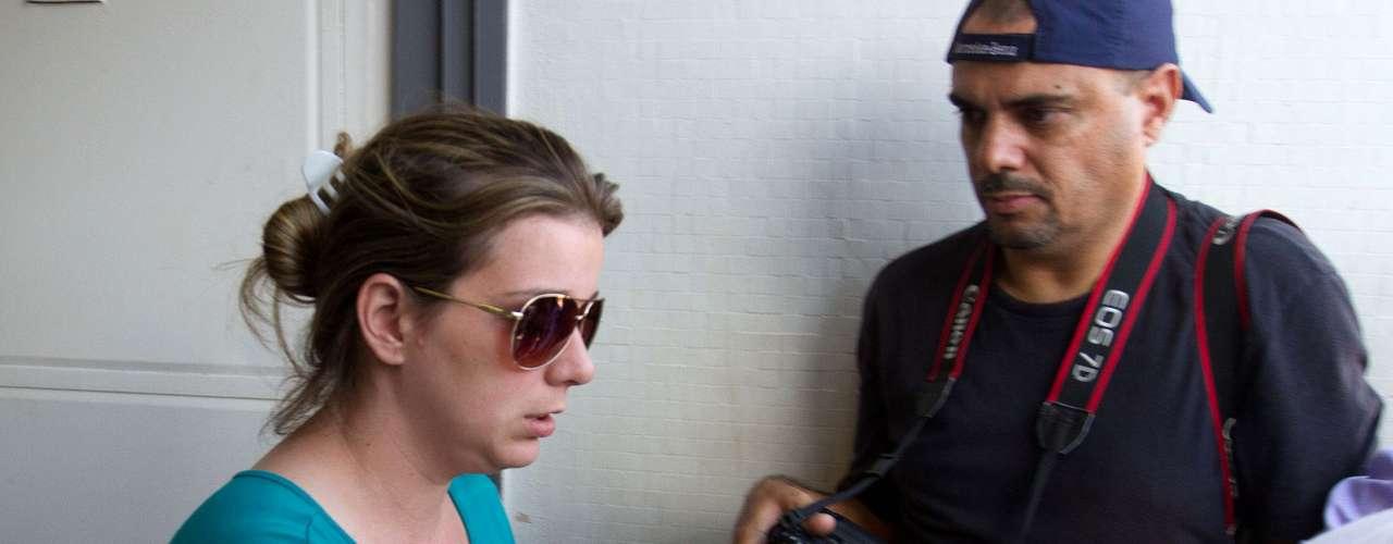 10 de novembro -A mãe de Joaquim, Natália Mingoni Ponte, foi chamada para prestar depoimento neste domingo