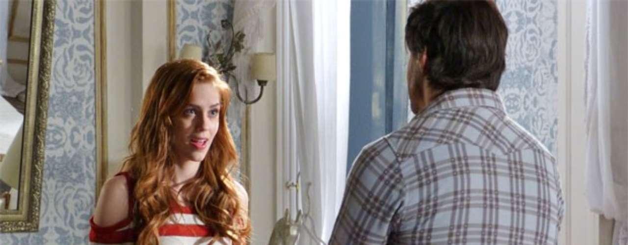 Natasha procura por Thales no quarto dele