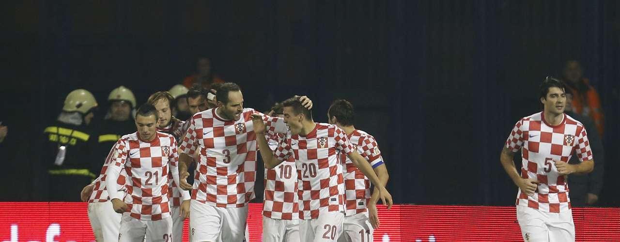 Croácia - vencedor da repescagemdas Eliminatórias Europeias sobre Islândia