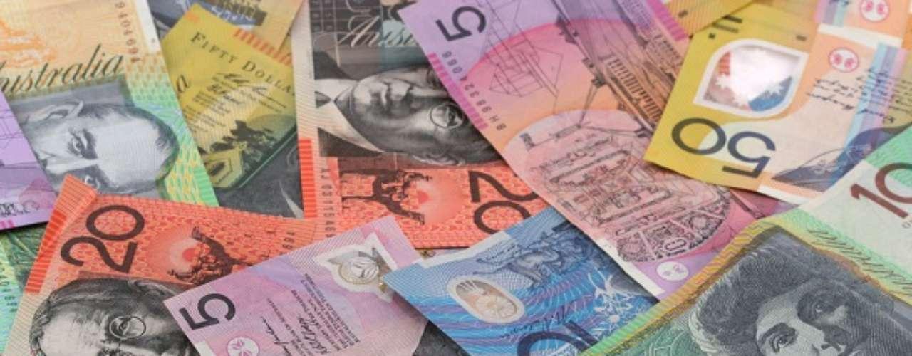 Único país da Oceania na Copa do Mundo, a Austrália tem uma moeda valorizada e bastante utilizada no comércio estrangeiro. Um dólar americano equivale a 1,07 dólar australiano