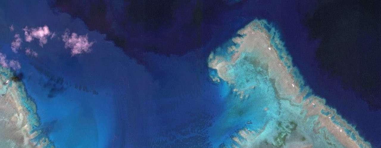 A Grande Barreira de Coral, na Austrália. As cinco melhores colocadas serão anunciadas em 17 de dezembro