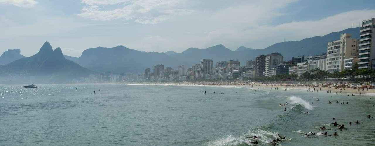 5 de dezembro -Segundo o Centro de Operações da Prefeitura do Rio, atingiu 46ºC