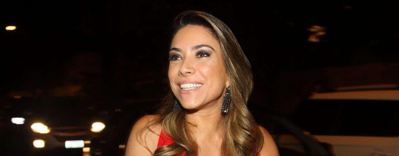Silvia Abravanel , filha de Silvio Santos, se casou na noite dessa sexta-feira (6), em São Paulo, com o cantor sertanejo Edu, da dupla Téo & Edu. Na foto, Patrícia