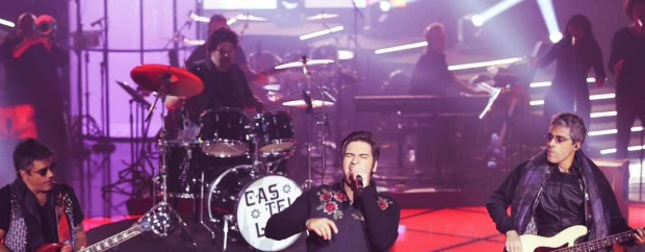 Rodrigo Castellani cantou 'Gita', de Raul Seixas, mas foi eliminado