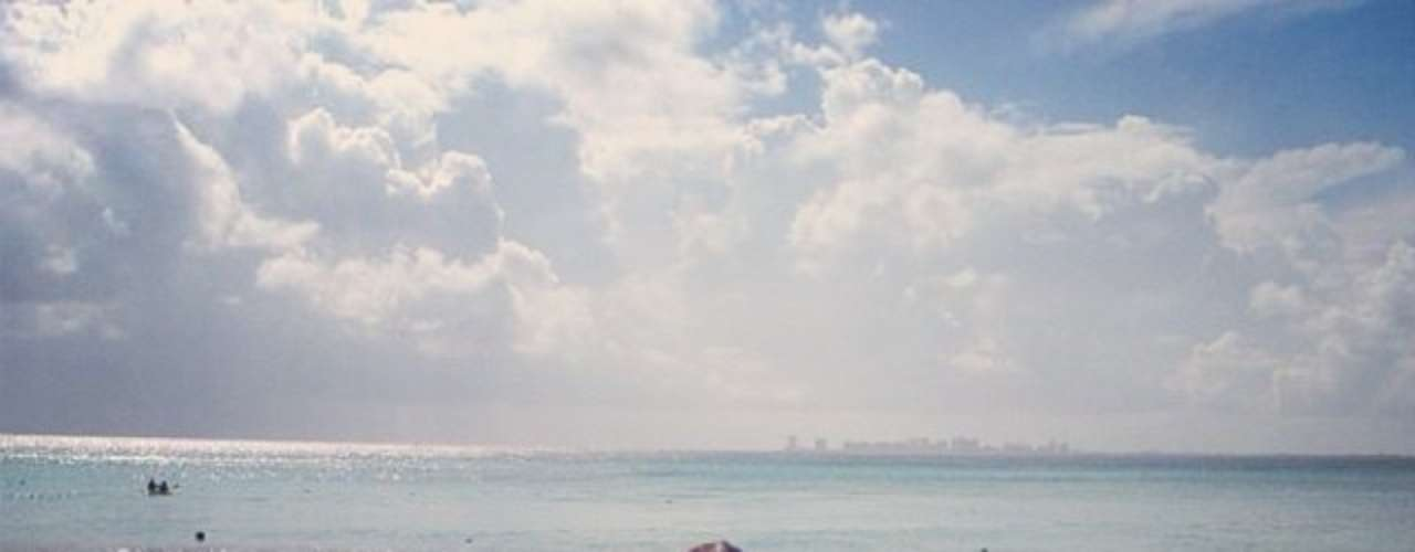 Cássio aproveita Cancún, no México